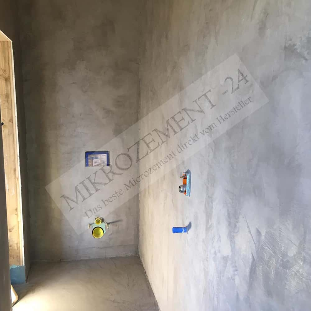 F Floor Microzement, 200m20 Spachtelmasse für Boden, Bad, Dusche