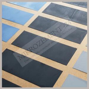 Microzement Musterplatte