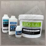 GORAL Microzement für Wand Boden Bad Dusche Treppe