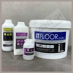 ITFLOOR Mikrozement Microzement für BODEN