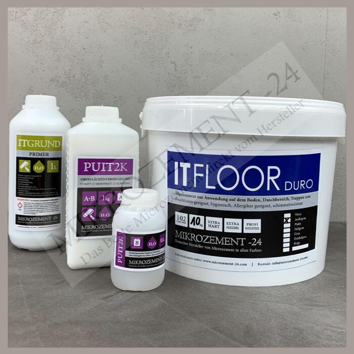 ITFLOOR Mikrozement SET für BODEN