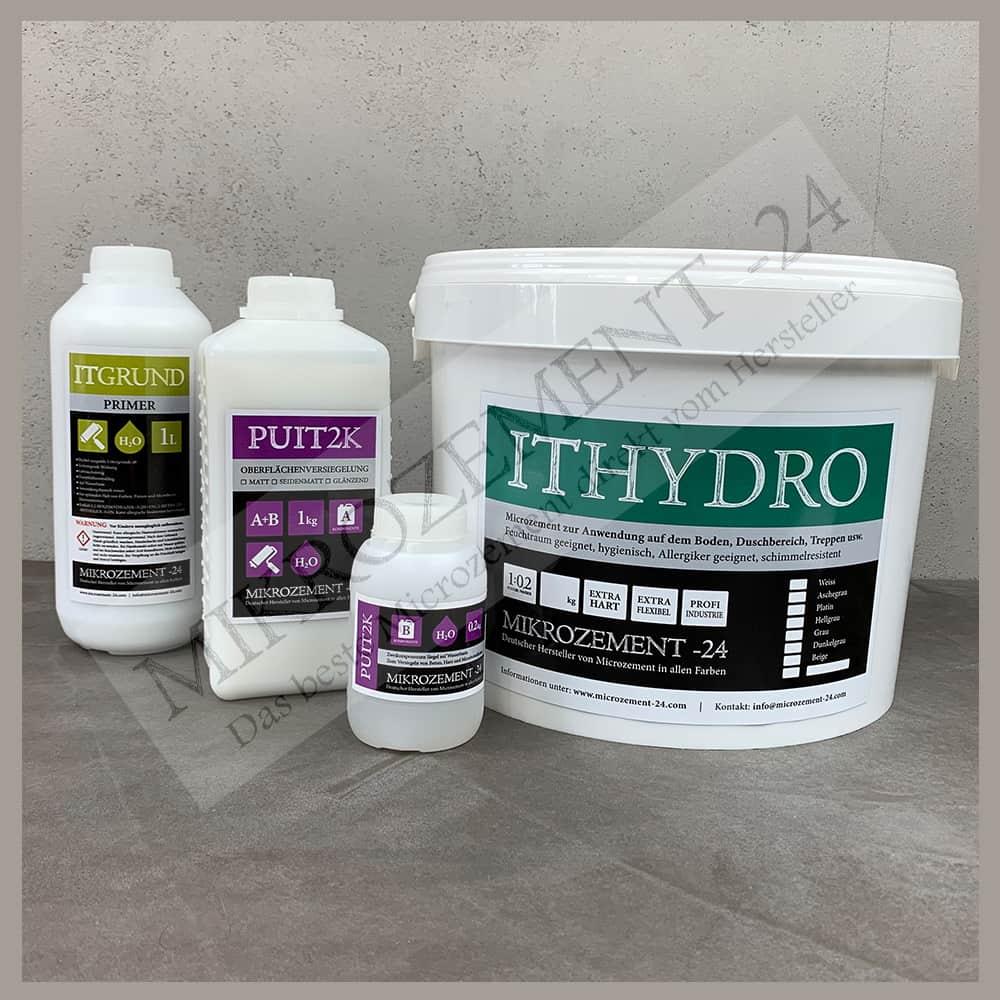 ITHydro Microzement für Duschen und Nasszellen